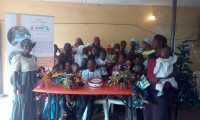 Christmas Event With FAHPAC Home for Motherless and Vulnerable Children – December 2016.