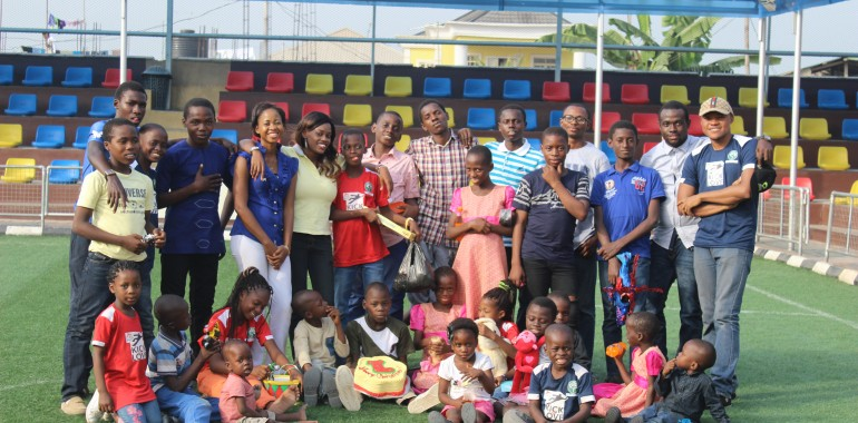 Christmas Outreach at the Destiny Trust Home – December 2015